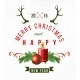 Christmas Background with Type Design - GraphicRiver Item for Sale
