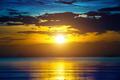 Beautiful sunset over sea - PhotoDune Item for Sale