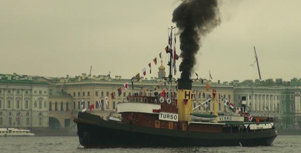 An Old Steamer 3