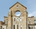 Old Gothic abbey - Abbey of San Galgano, Tuscany, Italy - PhotoDune Item for Sale
