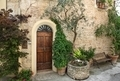 Old door in a Tuscany town, Italy - PhotoDune Item for Sale
