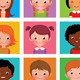 Kid Avatars - GraphicRiver Item for Sale