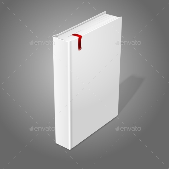 GraphicRiver Blank Hardcover Book 9558810