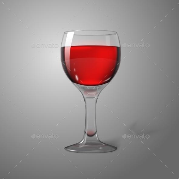 GraphicRiver Wine Glass 9558823