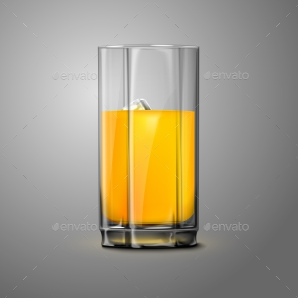 GraphicRiver Juice Glass 9558831