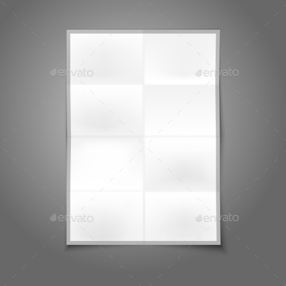 GraphicRiver Blank Folder Paper 9558846