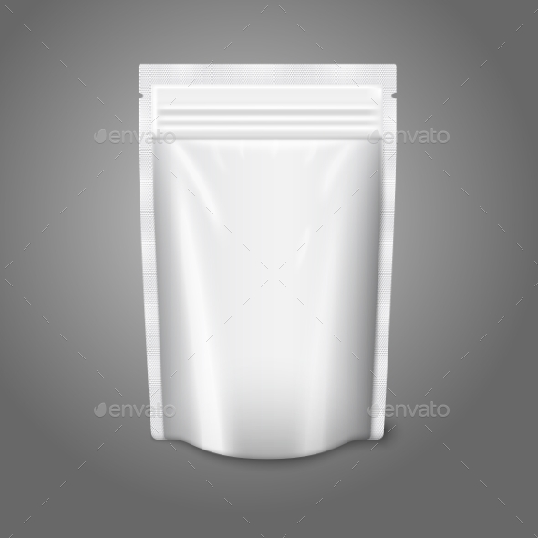 GraphicRiver Blank Plastic Pouch 9558848