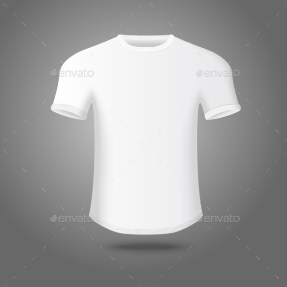 GraphicRiver Blank Male T-Shirt Template 9558862