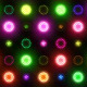 Christmas & New Year Colorful Lights Flashing VJ - VideoHive Item for Sale
