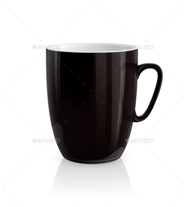 GraphicRiver Black Cup 9559141