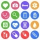Medical Flat Icons - GraphicRiver Item for Sale