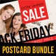 3 in 1 Black Friday Postcard Template Bundle - GraphicRiver Item for Sale