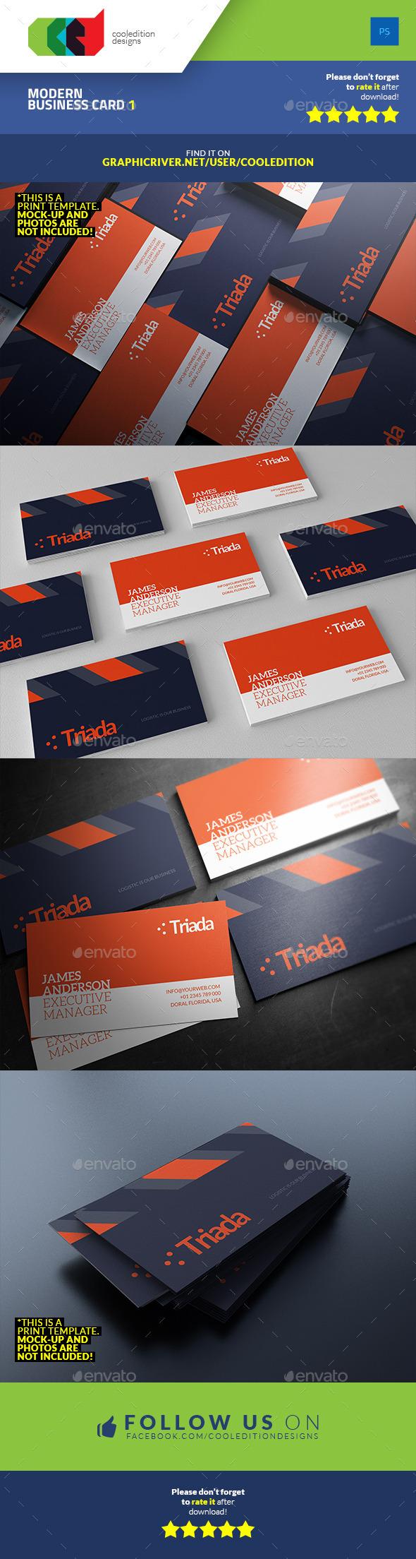 Modern Business Card 1