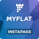MYFLAT - Real Estate Instapage Template - ThemeForest Item for Sale