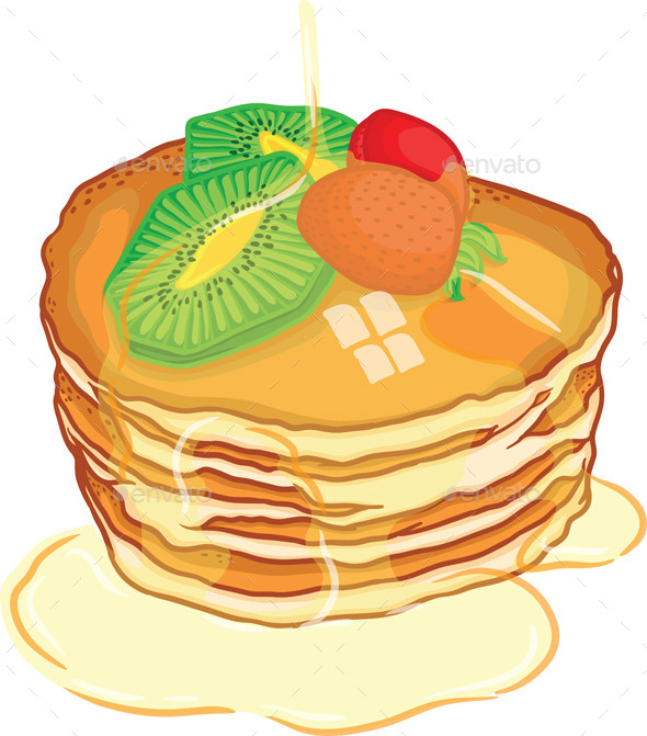 GraphicRiver Pancake 9559529