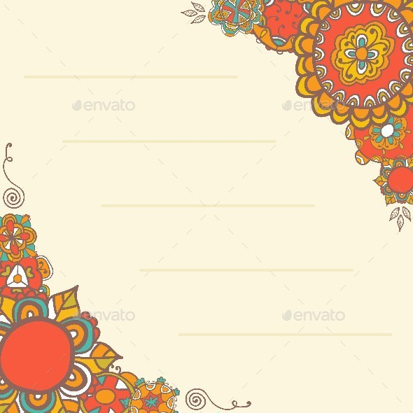 GraphicRiver Template Design for Greeting Card 9559624