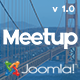 Meetup | Conference & Event Joomla Template