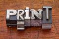print word in metal type - PhotoDune Item for Sale