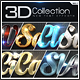 New 3D Collection Text Effects GO.1 - GraphicRiver Item for Sale