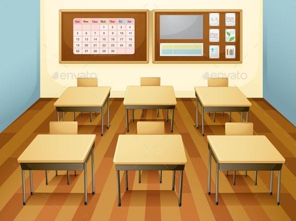 GraphicRiver Classroom 9561367