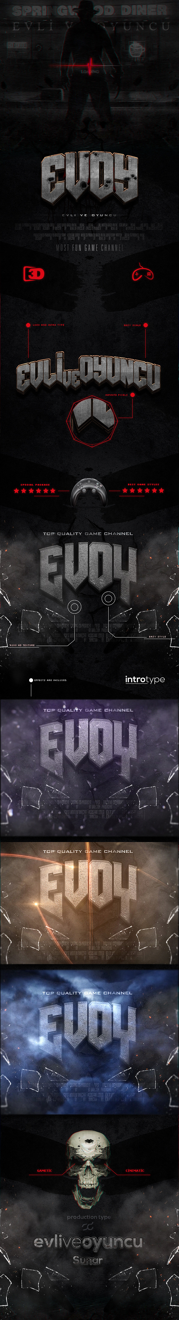 GraphicRiver 3D Cinematic Styles 9512534