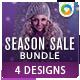 Sale Banners Bundle- 4 Sets - GraphicRiver Item for Sale