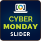 Cyber Monday Slider - GraphicRiver Item for Sale