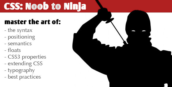 TutsPlus CSS Noob to Ninja Videos 1-4 122040