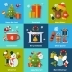 Winter Concept Set - GraphicRiver Item for Sale