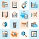 Accounting Icons Set - GraphicRiver Item for Sale