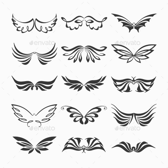 GraphicRiver Wings Collection 9562228