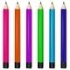 Six Colorful Pencils - GraphicRiver Item for Sale