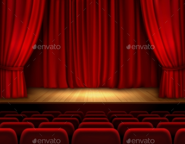 GraphicRiver Theater Stage Background 9562402