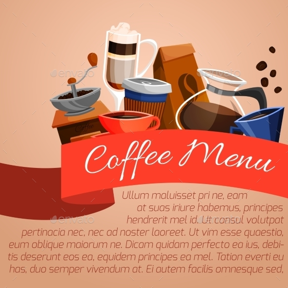 GraphicRiver Coffee Menu Poster 9562496