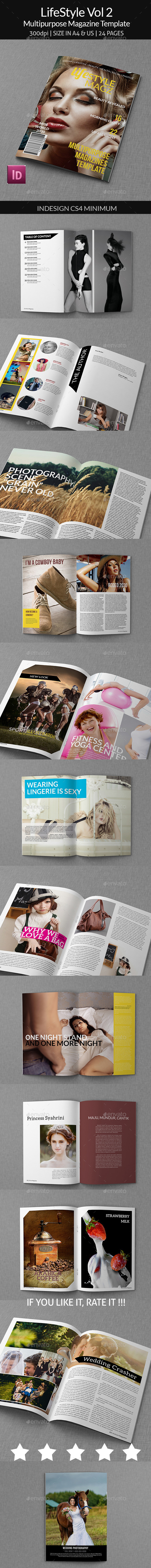 GraphicRiver Lifestyle Vol 2 Multipurpose Magazines 9562502