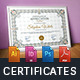 Modern Certificates - GraphicRiver Item for Sale