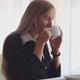 Business Woman Drinking Coffee - VideoHive Item for Sale