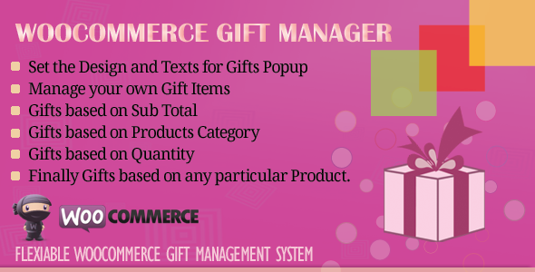 WooCommerce Gift Manager - CodeCanyon Item for Sale
