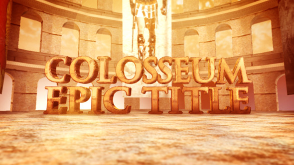 Colosseum Epic Title