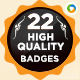 22 High Quality Badges - GraphicRiver Item for Sale