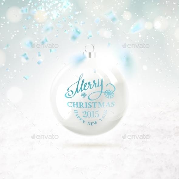 GraphicRiver Christmas Ball 9563305
