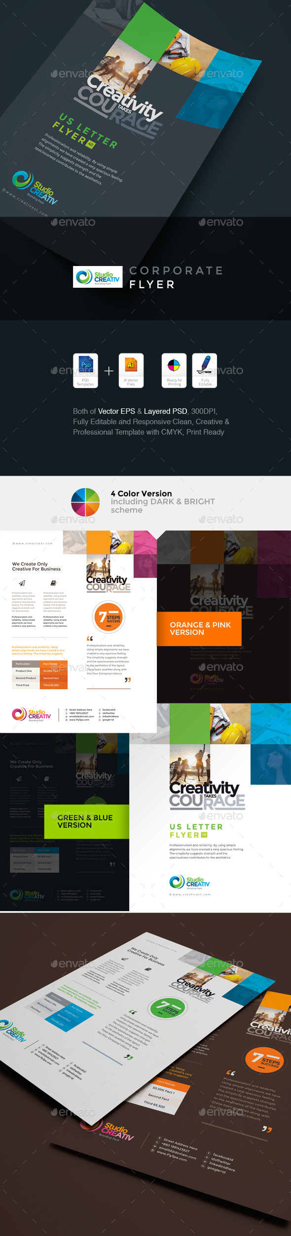 GraphicRiver Creative Business Flyer 9563347