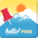 HelloPins - CodeCanyon Item for Sale