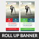Clean & Creative Business Rollup Banner Template - GraphicRiver Item for Sale