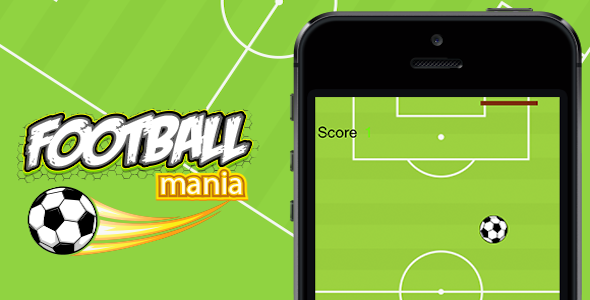 CodeCanyon Football Mainia with Admob 9563812