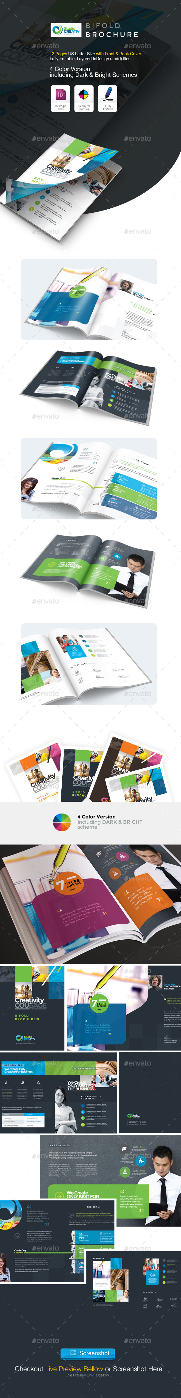GraphicRiver Creative Bifold Brochure 9563821