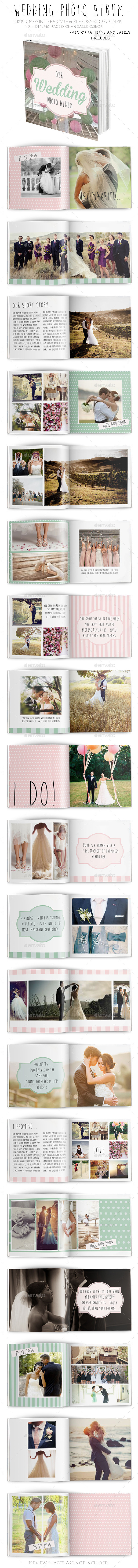 GraphicRiver Wedding Photo Album 9563940