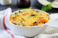 Baked pasta with spinach in tomato sauce - PhotoDune Item for Sale