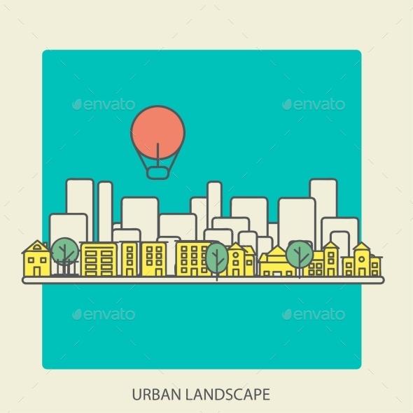 GraphicRiver Urban Landscape 9564209