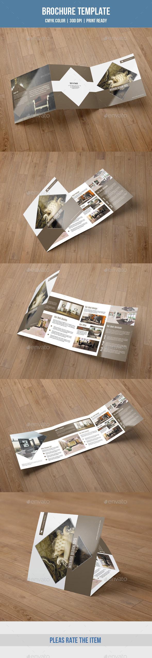 GraphicRiver Square Trifold For Interior Design-V49 9564559